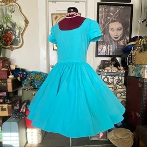 *RARE* Tiffany Blue PUG Dress EUC Canvas